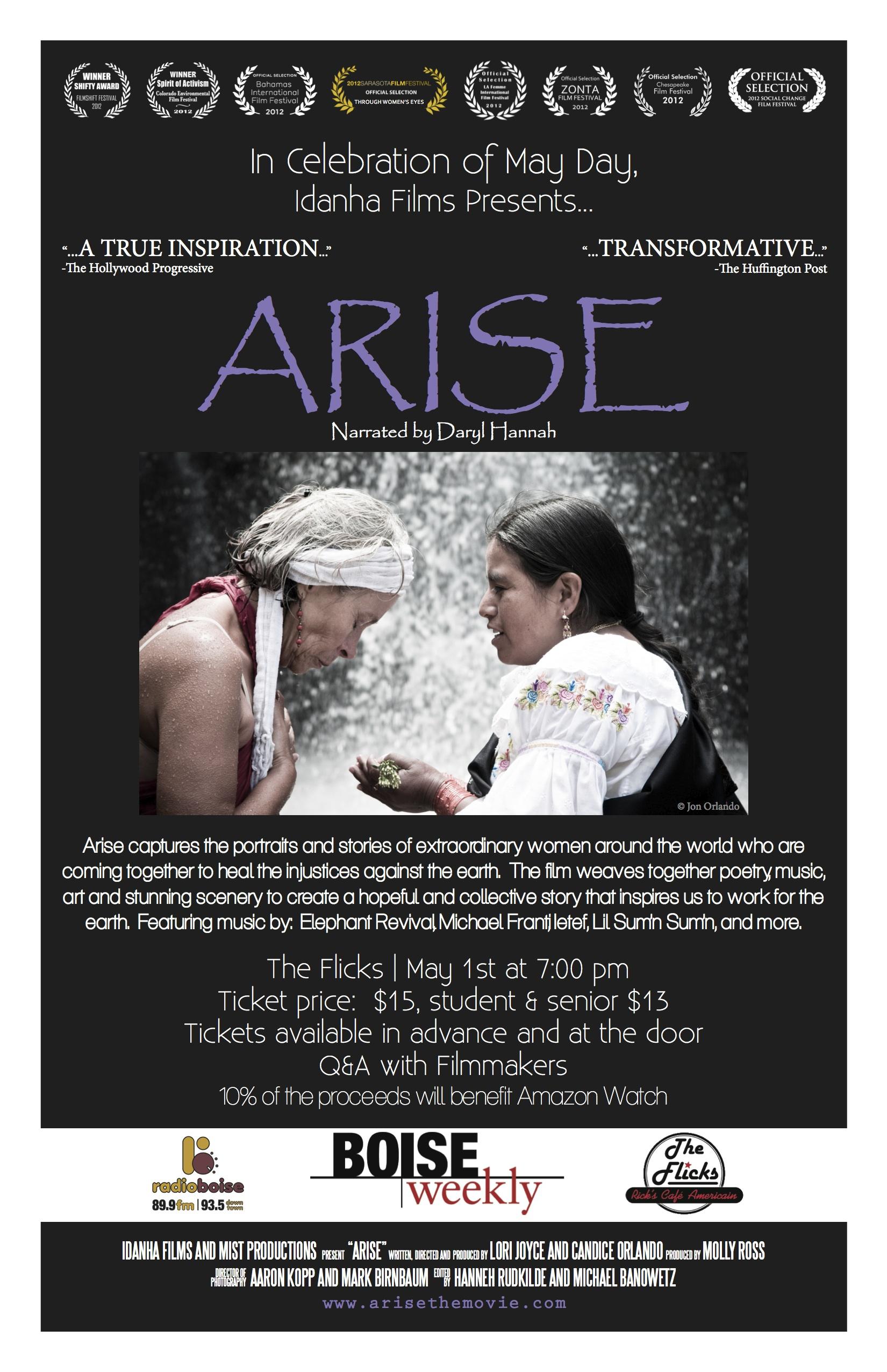 Boise april 2013 Arise poster - revised copy